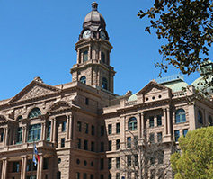 Picture of Tarrant county courthouse